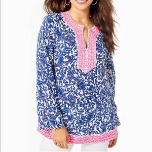Lilly Pulitzer Ocean Cove Tunic Top